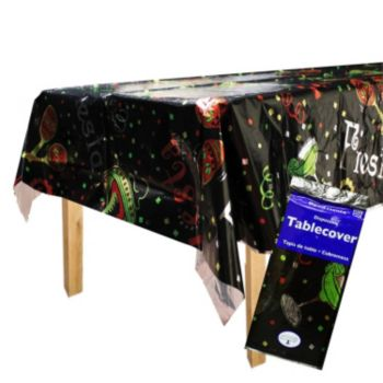 Fiesta Fabulous  Metallic Table Cover