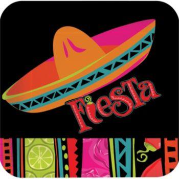 "Fiesta Fabulous  7"" Square Plates"