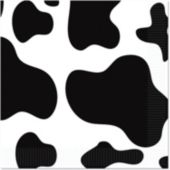 Cow Print Lunch Napkins - 16 Pack