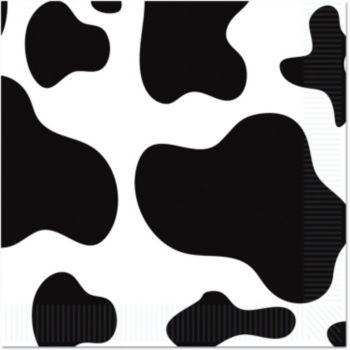 Cow Print Lunch Napkins