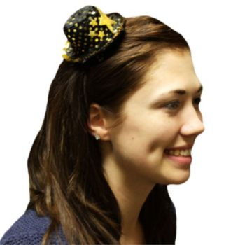 Gold Star  Top Hat Fascinator
