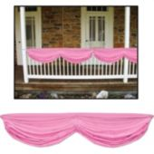 Pink Fabric Bunting Decoration