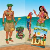 Hula Girl And Guy Props