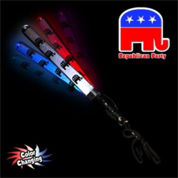 Republican Party LED Lightsticks - 7 Inch, 12 Pack