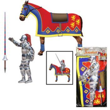 Medieval Jouster &  Horse Decoration
