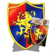 Medieval Lion Shield Centerpiece-11 1/2""