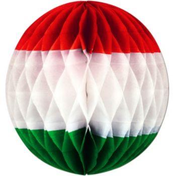 Red, White & Green Tissue Ball