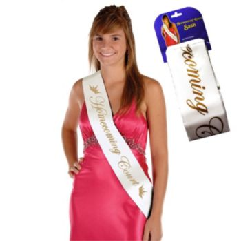 Homecoming  Court Sash