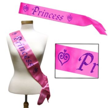Princess Pink Sash