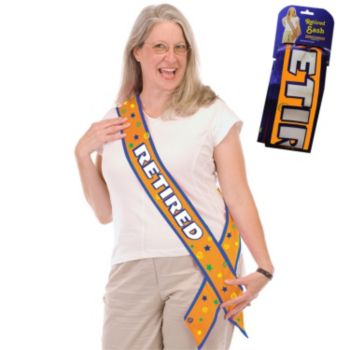 Retired Celebration Sash
