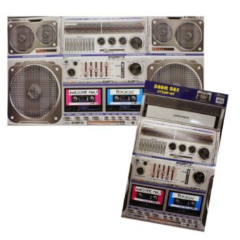 Boom Box  Stand Up Prop
