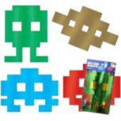 80's Arcade Icon Cutouts-4 Per Unit