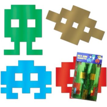 80's Arcade Icon  Cutouts