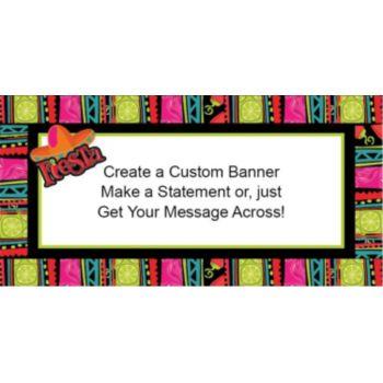 Fiesta Fabulous Custom Banner