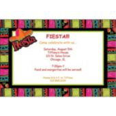 Fiesta Fabulous  Personalized Invitations