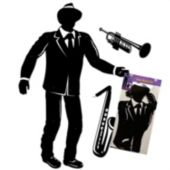 Jazz Musician Cut Out