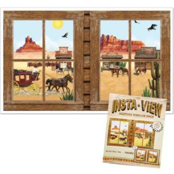 Western Window  Insta View Prop