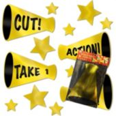 Movie Night Foil Props-13 Per Unit