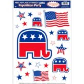 Republican Peel N' Place Decals