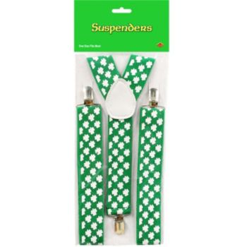Shamrock Suspenders