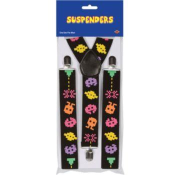 80's Arcade Suspenders