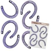 Horseshoe Clings-6 Pack