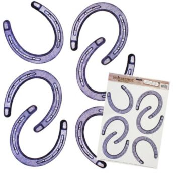 Horseshoes  Peel n' Place Decals