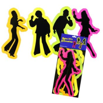 Retro Dancers  Cutouts