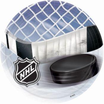 """NHL 7"""" Plates"""