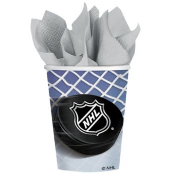 NHL 9 oz. Cups