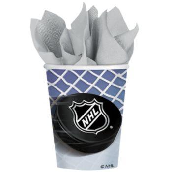 NHL 9 oz. Cups