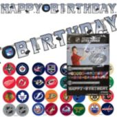 NHL Happy Birthday Banner
