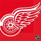Detroit Red Wings Lunch Napkins - 16 Pack