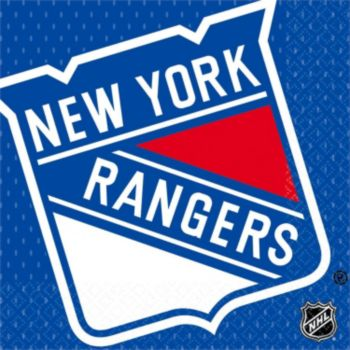 New York Rangers  Lunch Napkins