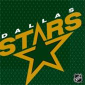 Dallas Stars Lunch Napkins - 16 Pack