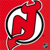 New Jersey Devils Lunch Napkins - 16 Pack