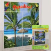 Palm Tree Wall Decorating Kit