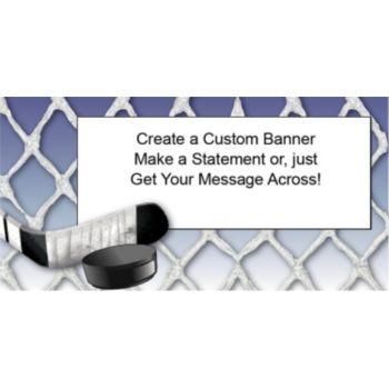 Pro Hockey Custom Banner