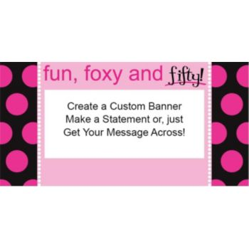 Fun Foxy and 50 Custom Banner