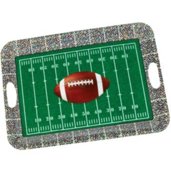 Football Field  Serving Tray