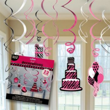 Fierce & Fabulous  Birthday Swirls