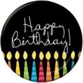 "Birthday Candle 7"" Plates - 8 Pack"