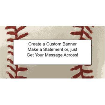 Baseball Custom Banner
