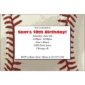 Baseball Personalized Invitations