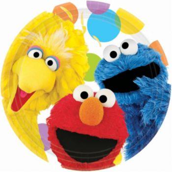 "Sesame Street  9"" Plates"