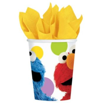 Sesame Street  9 oz.  Cups