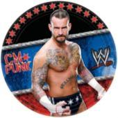 "WWE 7"" Paper Plates  - 8 Per Unit"