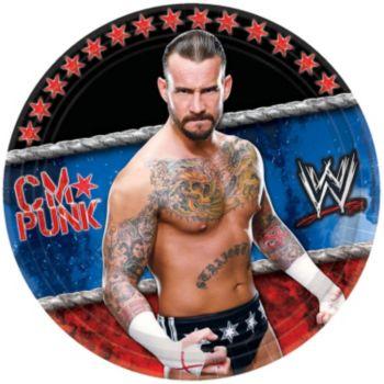 "WWE 7"" Plates"