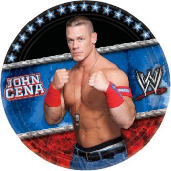 "WWE 9"" Plates"