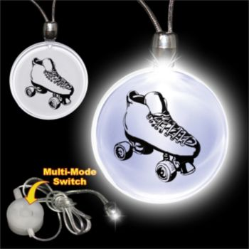 Roller Skate LED Pendant Necklace